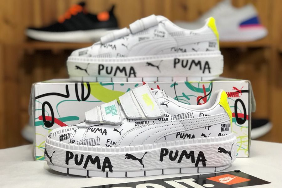 On Sale Puma x Shantell Martin Women Platform Trace Strap In