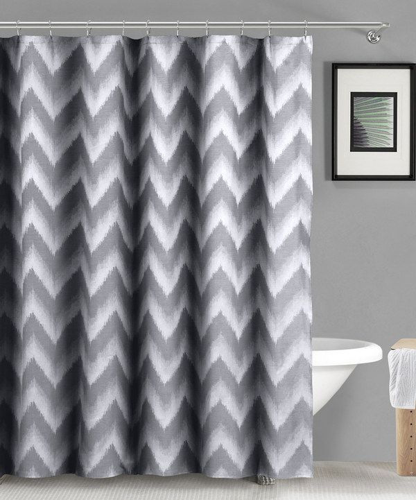 Look At This Gray Linen Maia Ikat Shower Curtain On Zulily Today