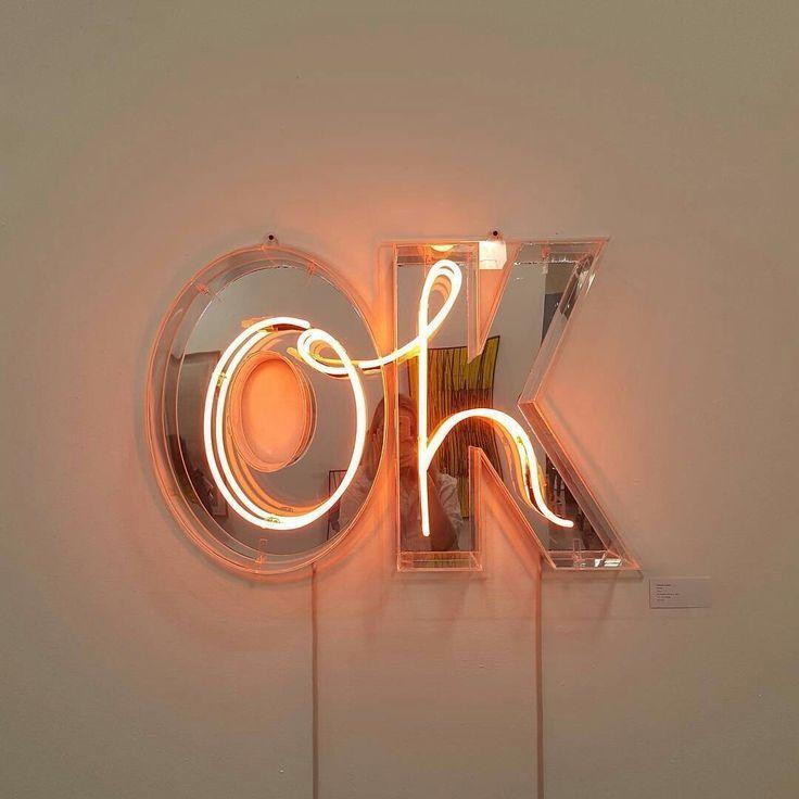 Oh Ok Give Em Attitude Disenos De Unas Letrero De Neon