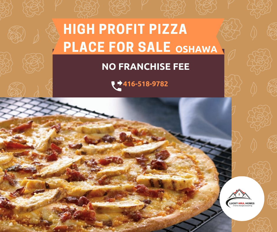 🍕Profitable Pizza Place Business for Sale in Oshawa! Great location, Close to 401 Fully equipped No franchise fee Take out. Delivery. Catering. Lots of existing and potential customers. For details, call 📲4165189782 #pizzaplace #forsale #justlisted #restaurantbusiness #takeout #delivery #catering #torontobusiness #realestate