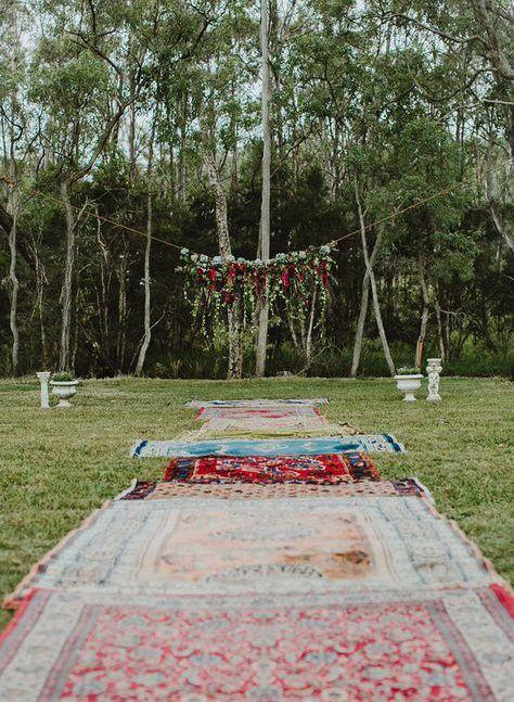 6 idées déco pour un mariage bohème chic réussi