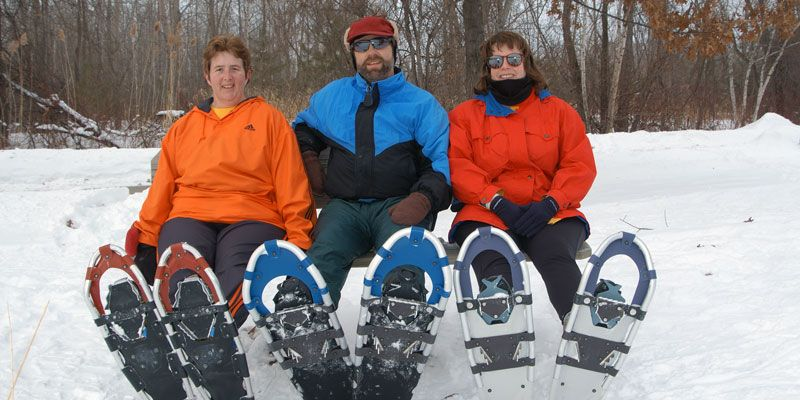 Six Great Places to Snowshoe Snow shoes, Wisconsin