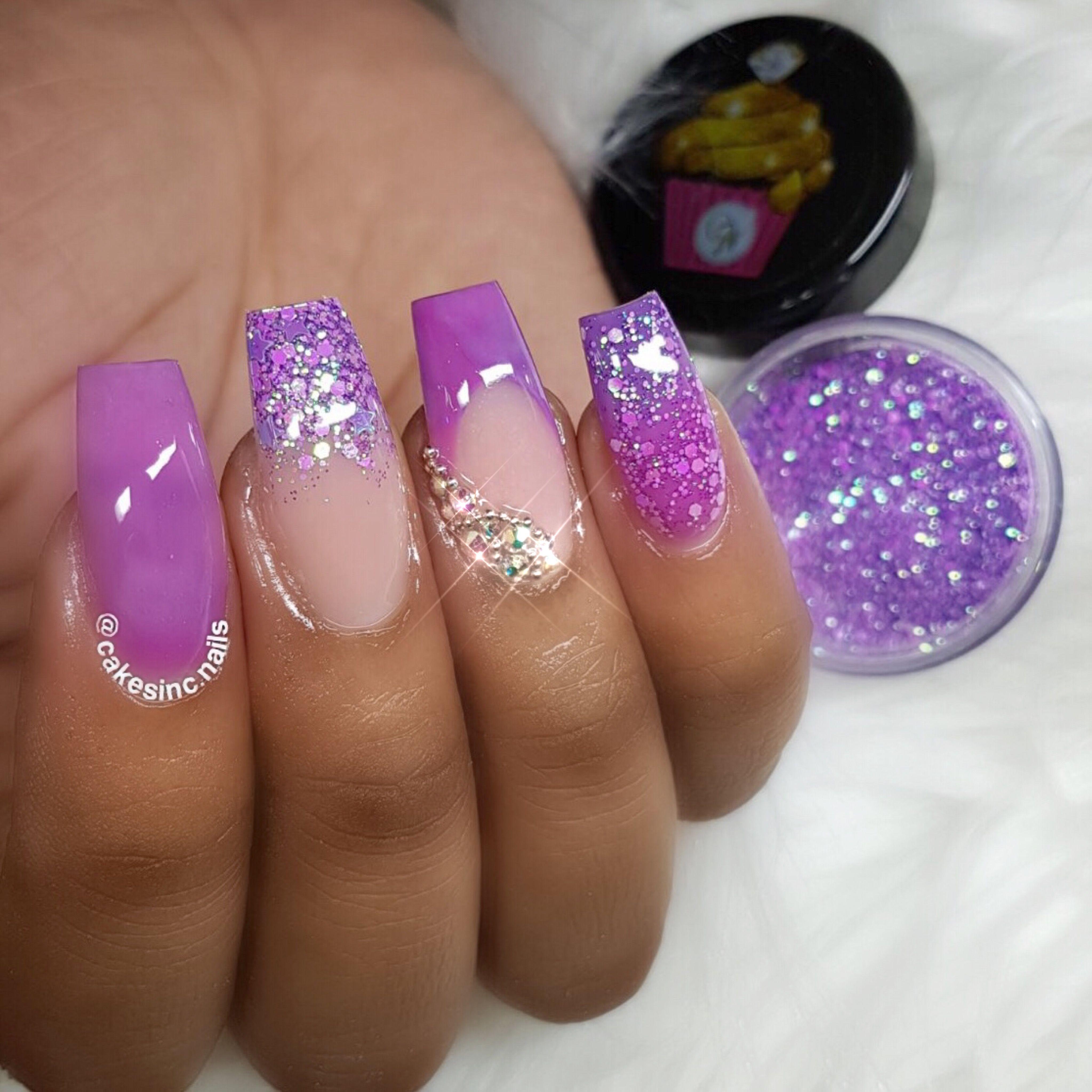 🌸I\'m using \'Curious\' SHOP⤵️GlitterBlendz x CakesInc.Nails 📦WWW ...