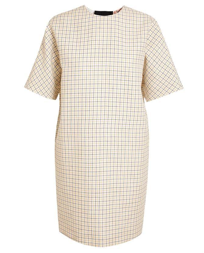 No21 | Checked Linen Dress