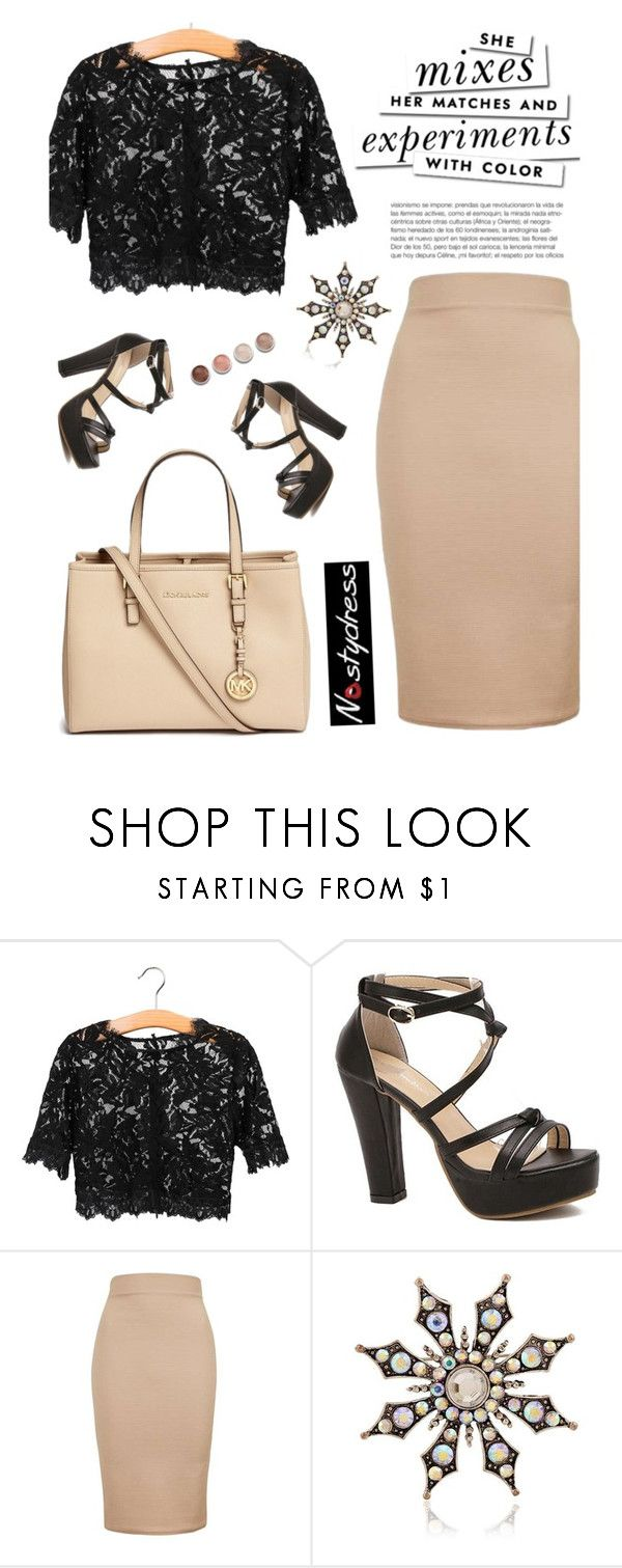 """""""Nastydress 4/4"""" by merima-kopic ❤ liked on Polyvore featuring Topshop, Michael Kors, Terre Mère, Kate Spade and nastydress"""
