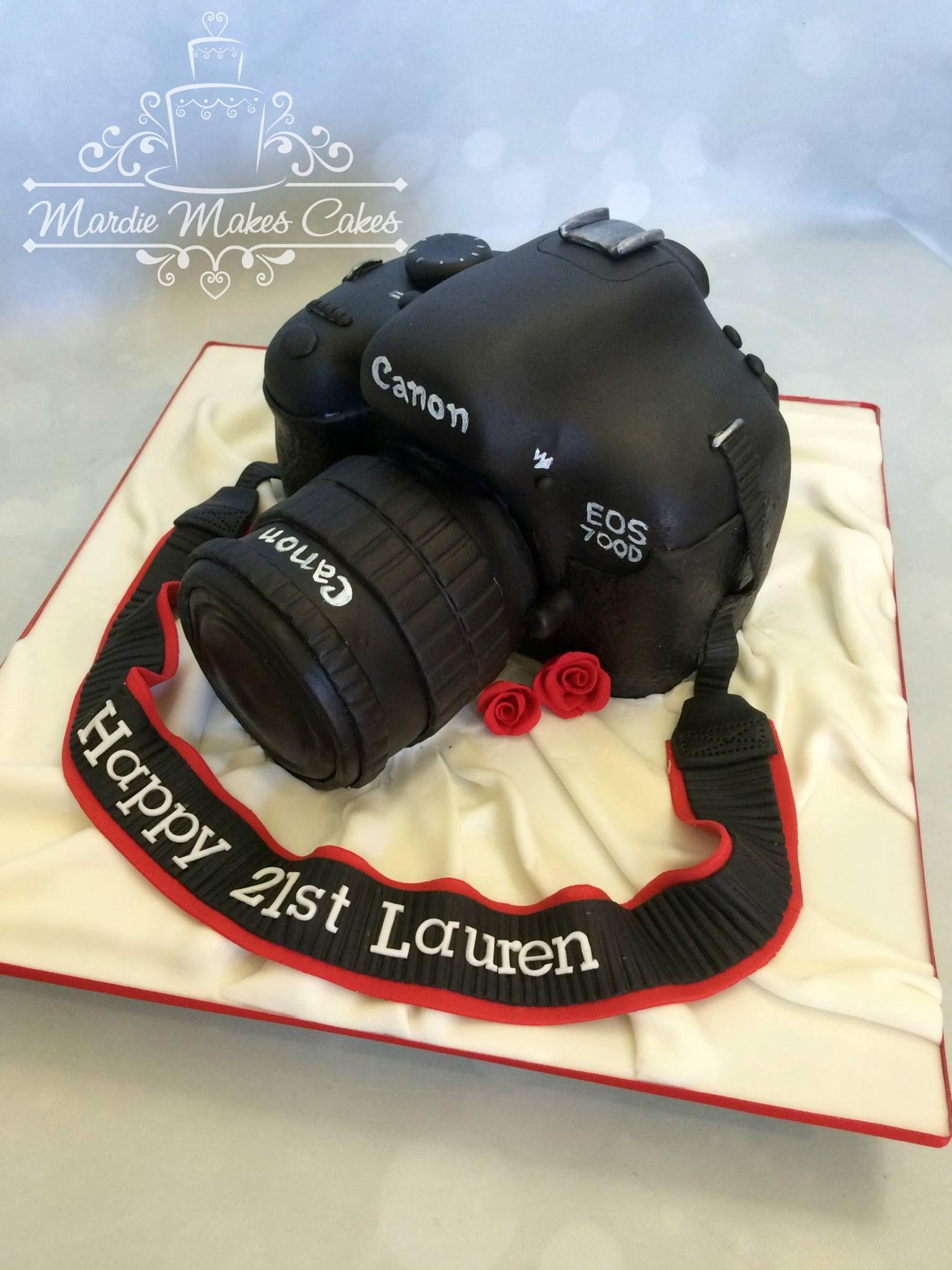Camera Cake Marmakes Cakes
