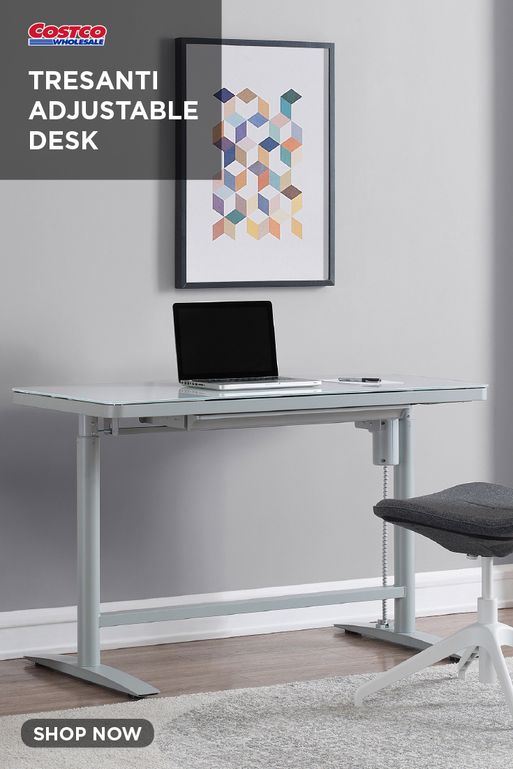 Tresanti Adjustable Desk With Images Desk Adjustable Desk