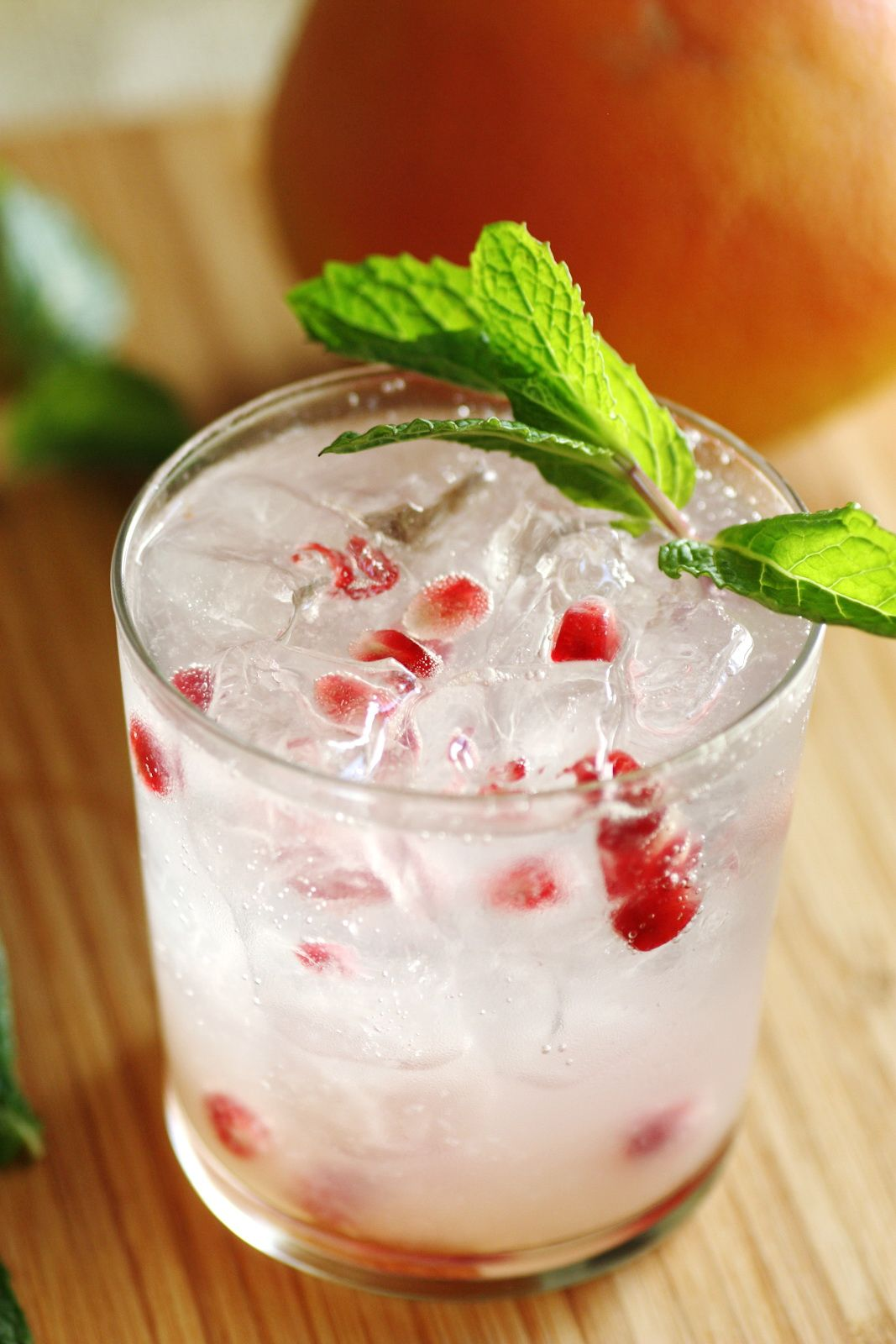 Lovely Christmas Party Drinks Ideas Part - 2: Pomegranate Christmas Cocktail. Cocktail RecipesDrink ...