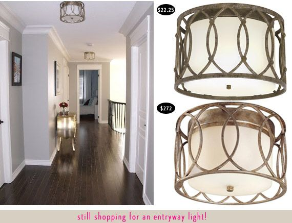 Troy Lighting Sausalito Transitional Flush Mount Ceiling Light ($272!) Vs  Allen + Roth