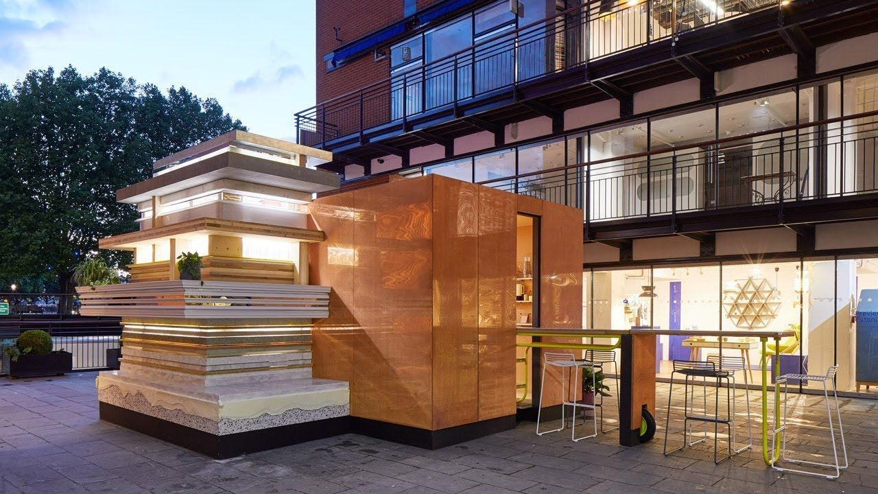 MINI Living Urban Cabin explores how future cities may ...