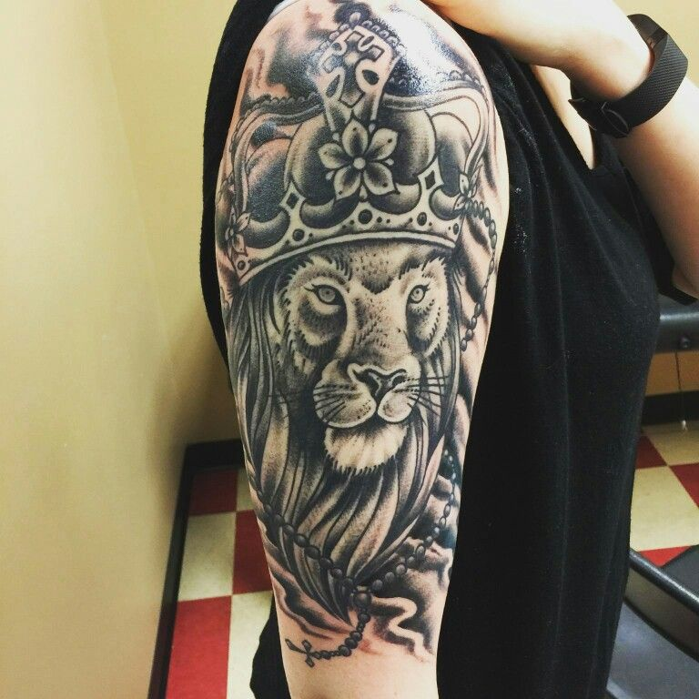 Lion Of Judah Tattoo Third And Final Session Tattoos Mens Lion Tattoo Lion Tattoo