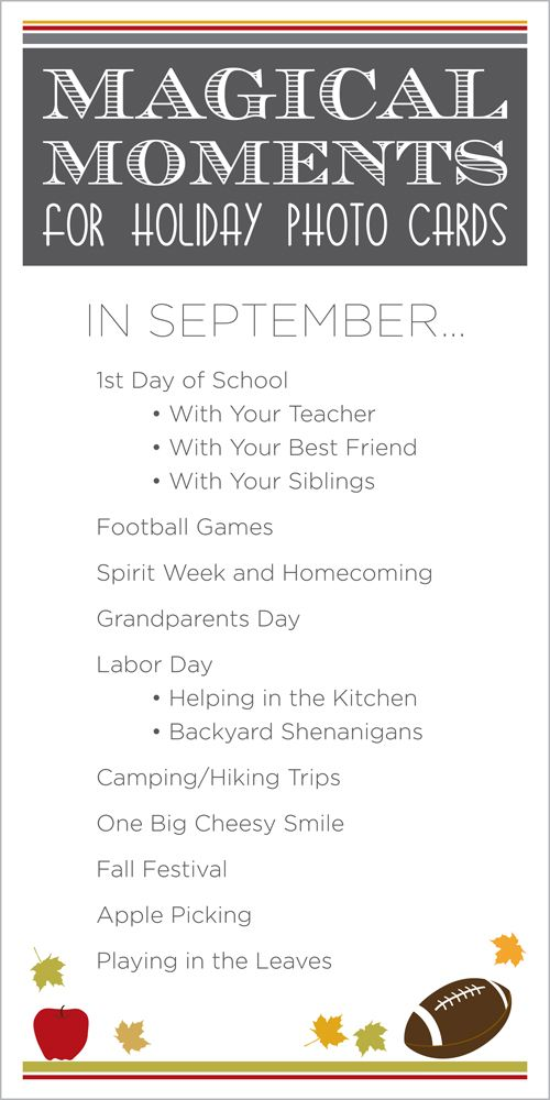 Capture these photo moments on the first day of school.