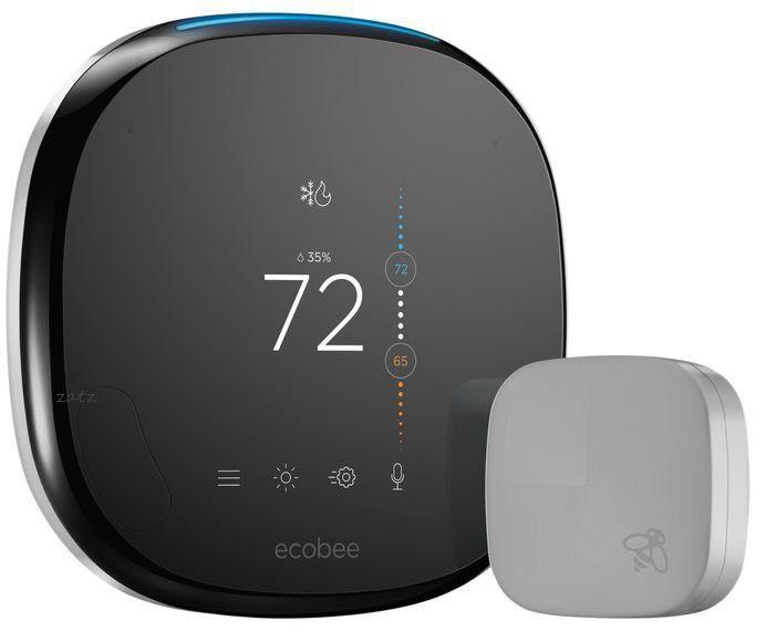 Rumored Next Gen Ecobee Thermostat Has Built In Alexa Smarts Ecobee Smart Thermostats Ecobee Thermostat