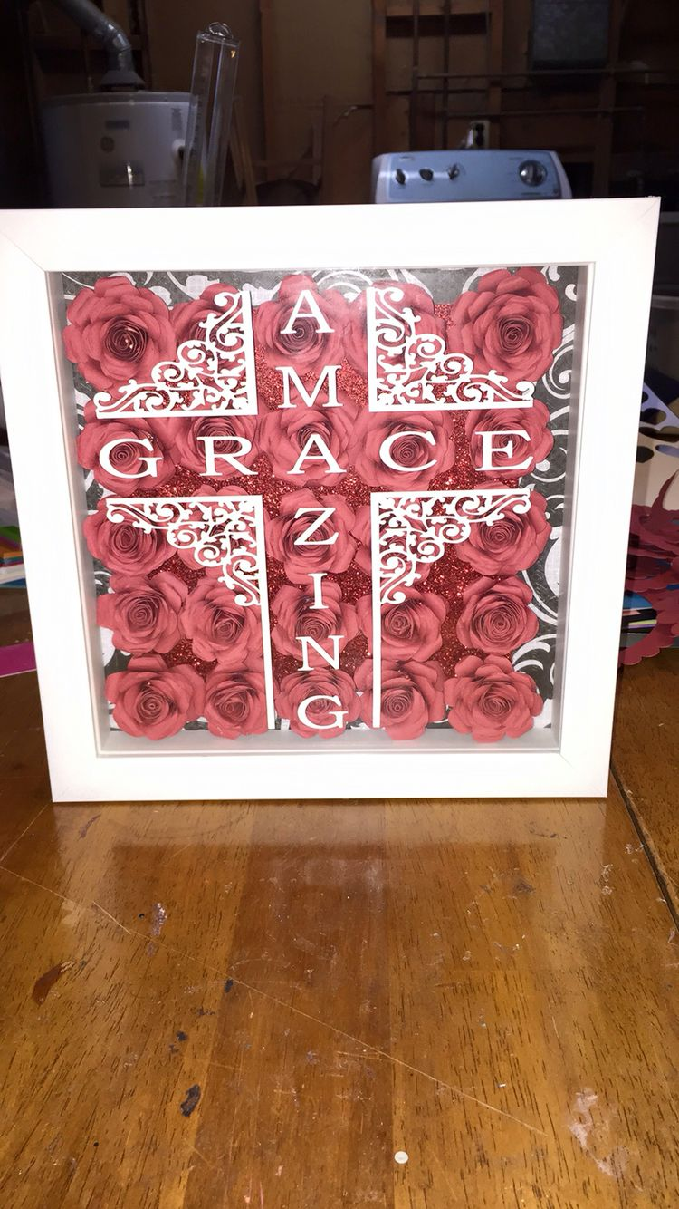Amazing grace | Silhouette Crafts | Pinterest | Cuadro