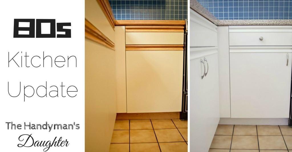 80s Kitchen Update Reveal | Redo kitchen cabinets ...