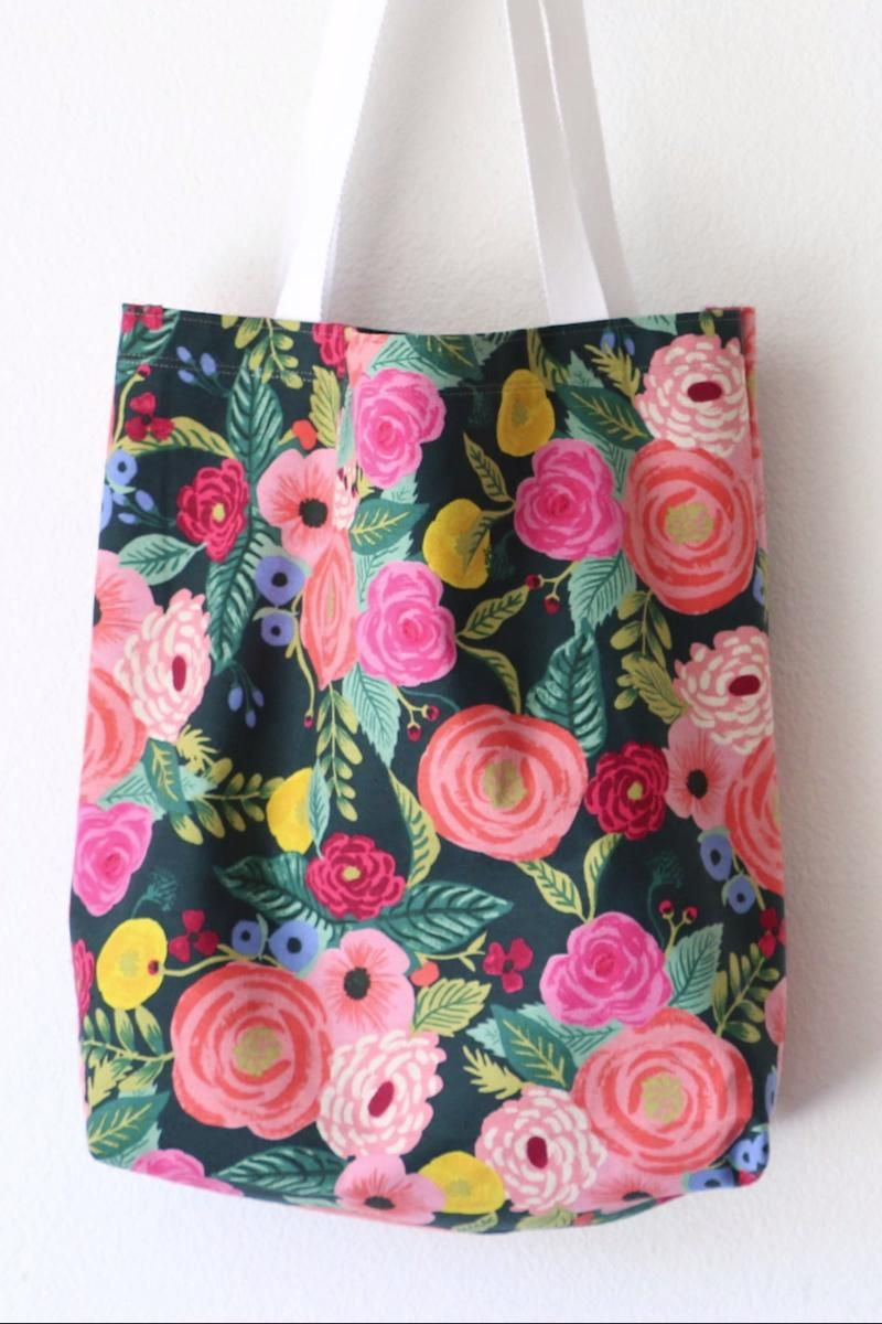 Best Tote Bag Tutorial!