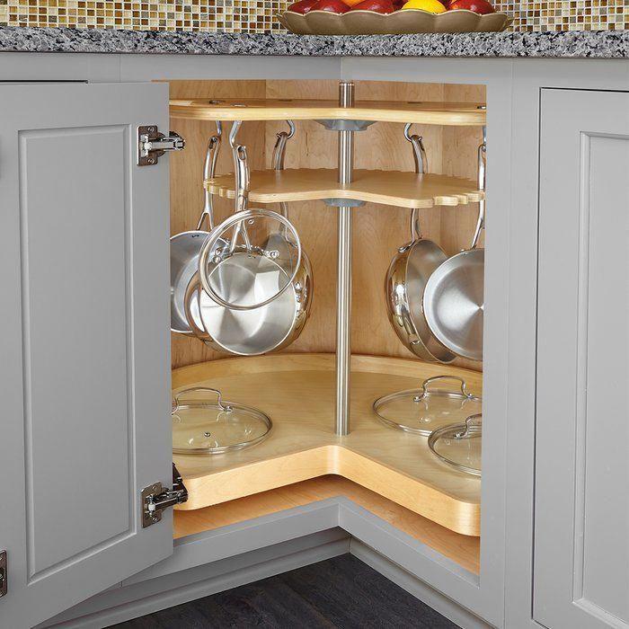 cookware organizer lazy susan kitchendecor interior design kitchen diy kitchen storage on kitchen organization lazy susan cabinet id=55914