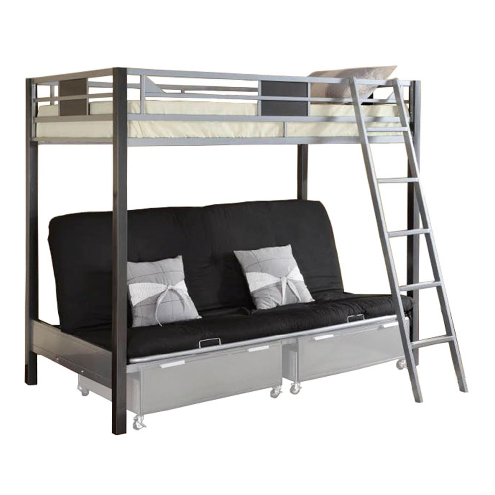Metal loft bed ideas  also good for a tiny home  Tiny Homes  Pinterest  Spin