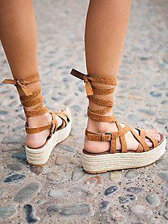 Vegan Milly Platform Sandal