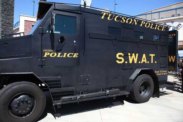 Tucson Police Swat Truck With Images Commercial Vehicle