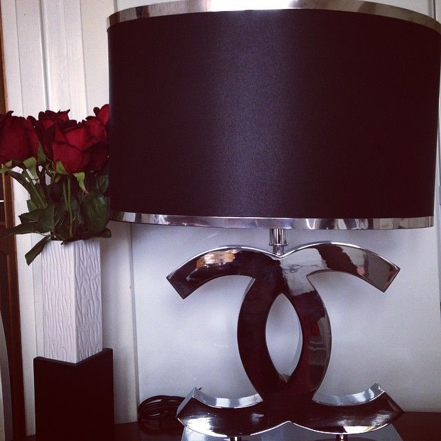 In Love With My Chanel Lamp From @suite888 @suite888