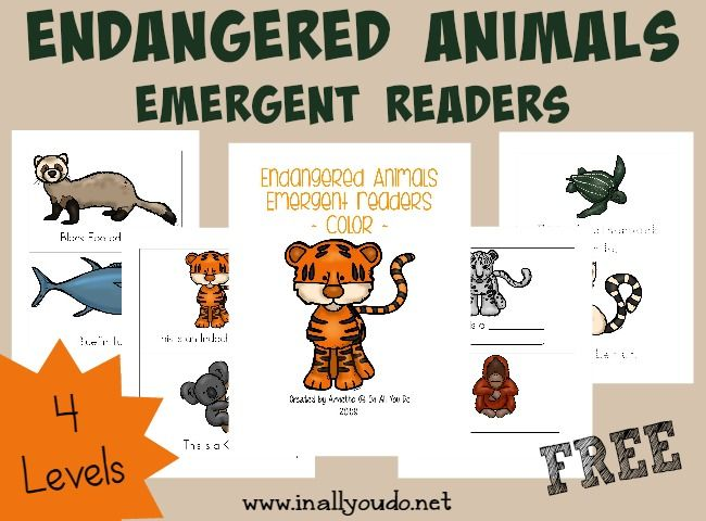 free} Endangered Animals Coloring Pages \ Emergent Readers - best of free coloring pages of endangered animals