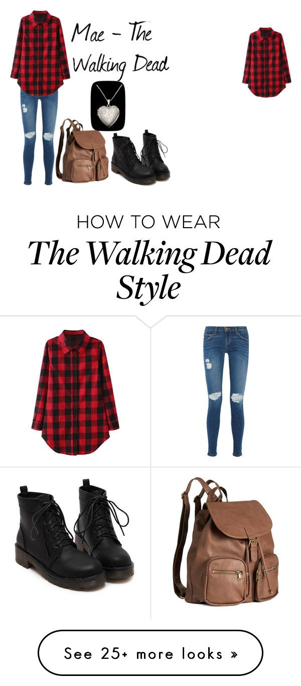 """Mae - The Walking Dead"" by missriverstone on Polyvore featuring Current/Elliott and H&M"