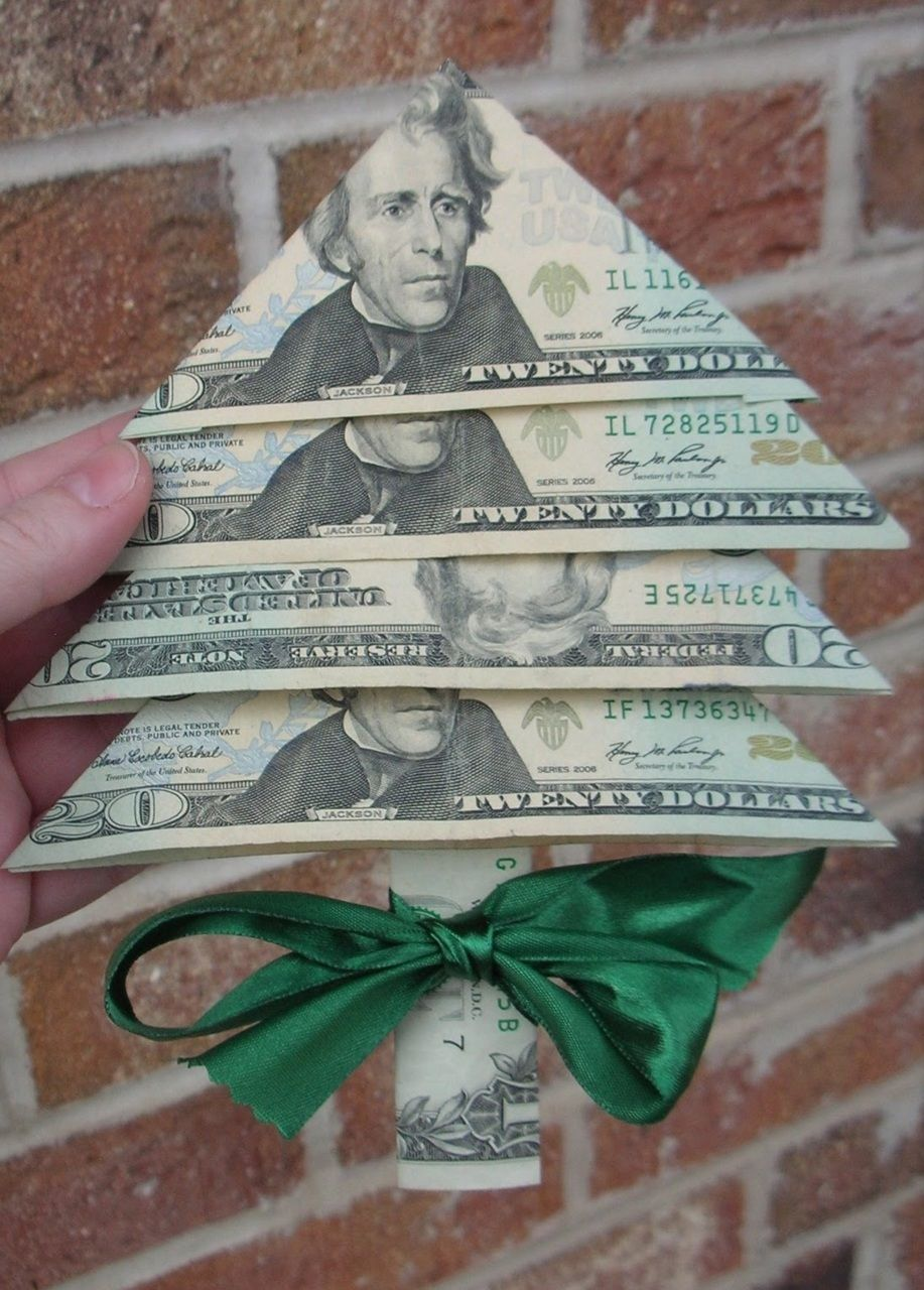 great way to give Christmas money