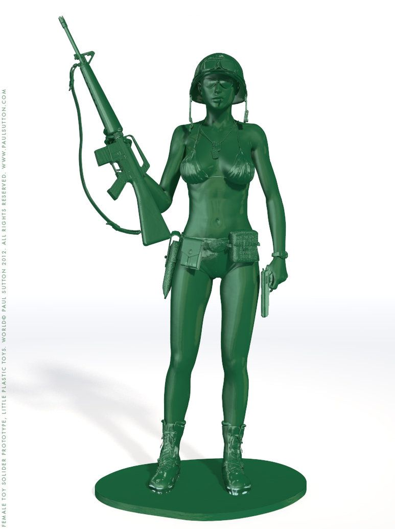 Female Toy Soldier Prototype 1 By Devilishlycreative On Deviantart