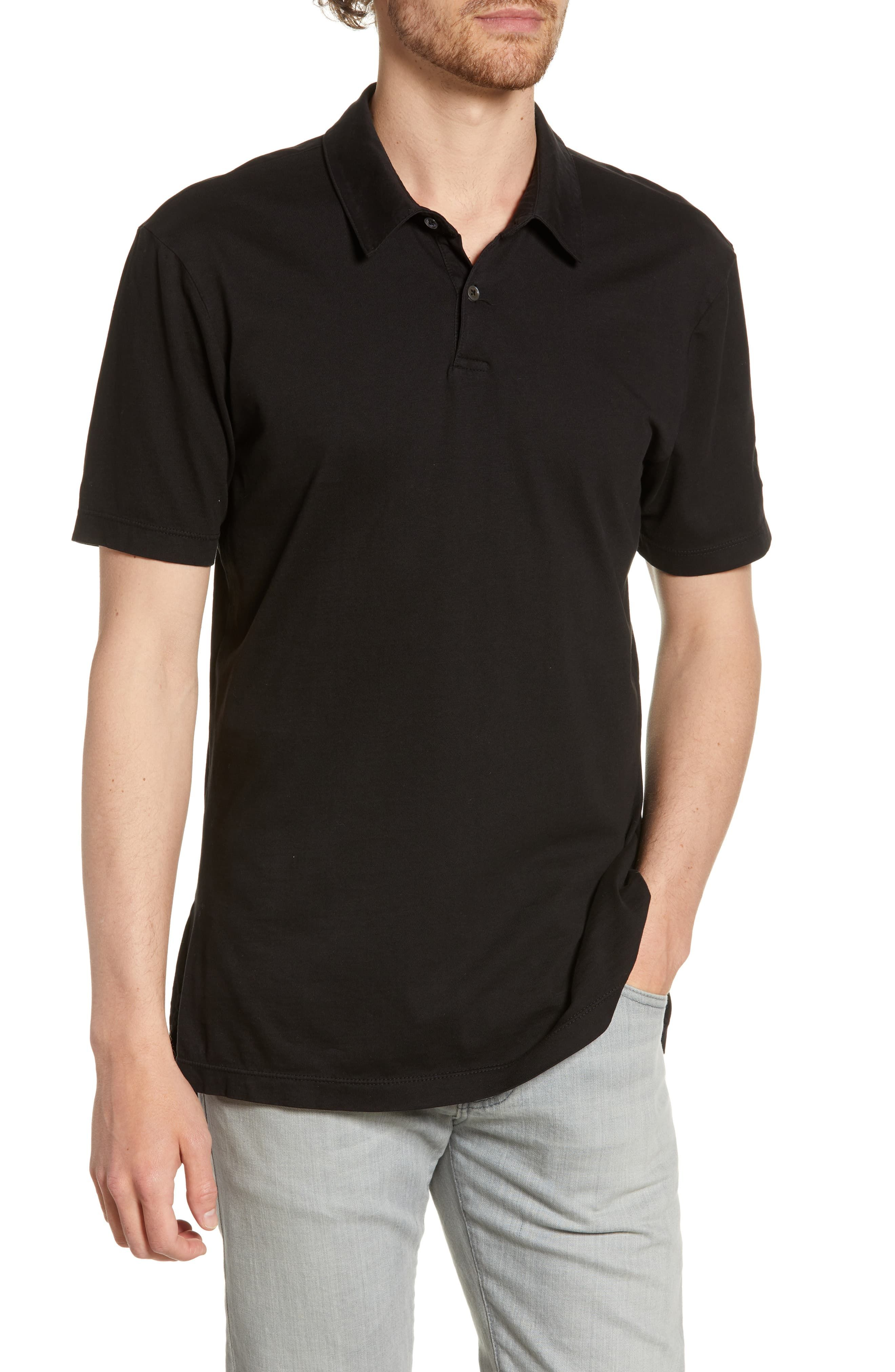 James Perse Lotus Applique Polo i 2019 | Products | James