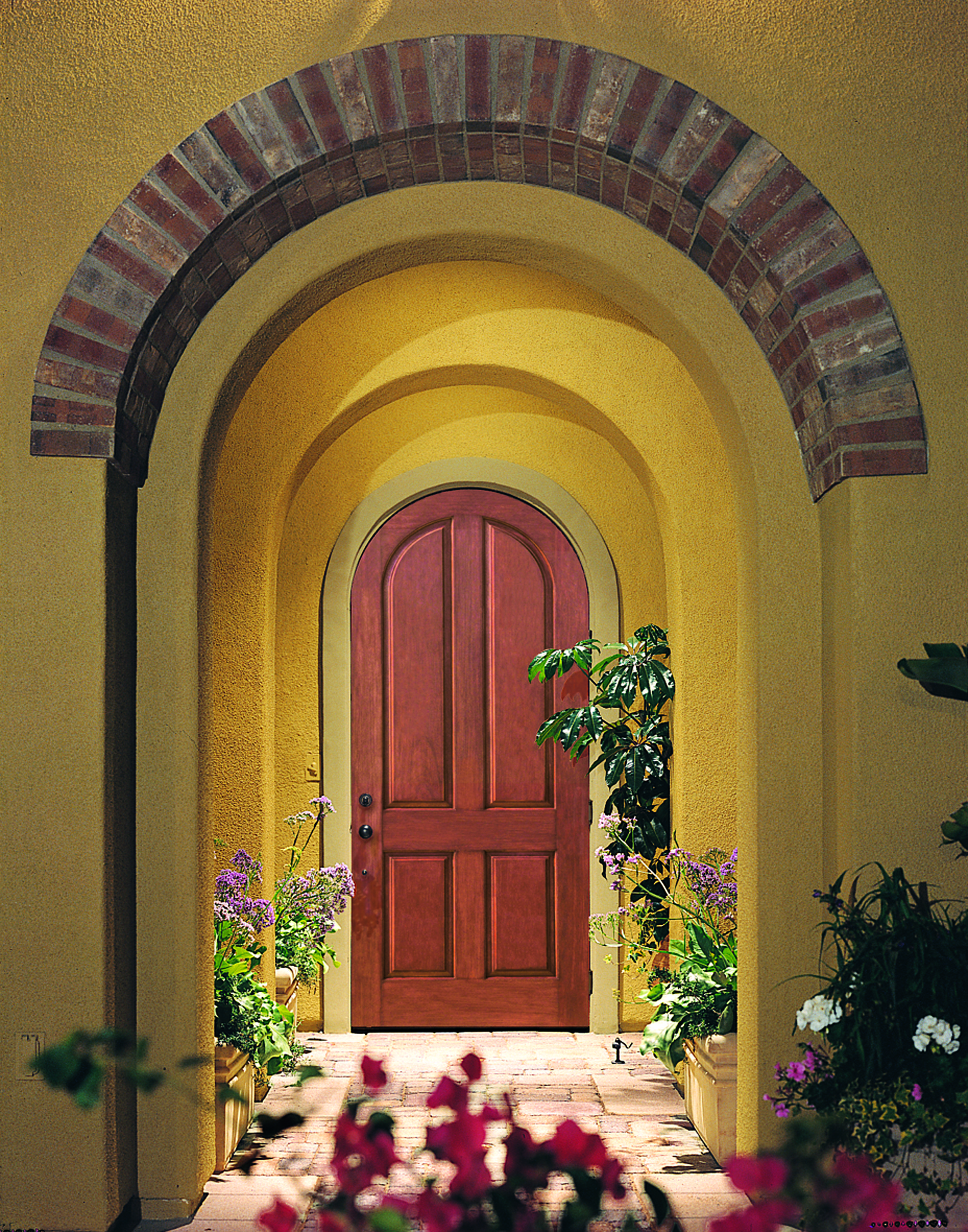 ThermaTru ClassicCraft Rustic Collection door Delicious Doors