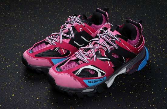 Balenciaga Track Sneaker Pink Black