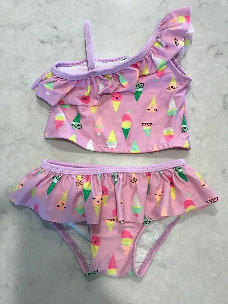 Joe Boxer Bikini Ice Cream Sweets 12 Months Fashion Clothing Shoes Accessories Babytoddlerclothin Girls Bathing Suits Girls Swimwear Bikini Swimwear Girls