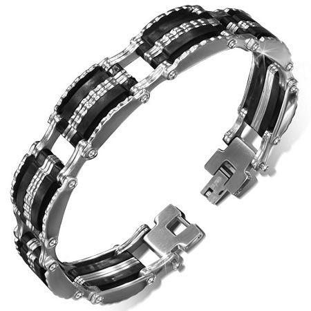 Bracelet homme metal
