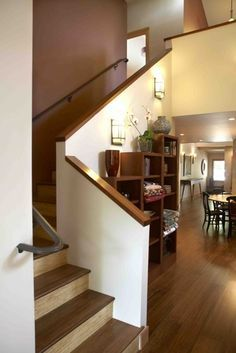 Image Result For Hall Stairs Solid Wall Banister