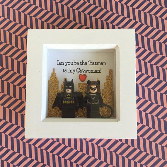 Birthday Gift For Him Birthday Custom Minifigure Frame Gift For