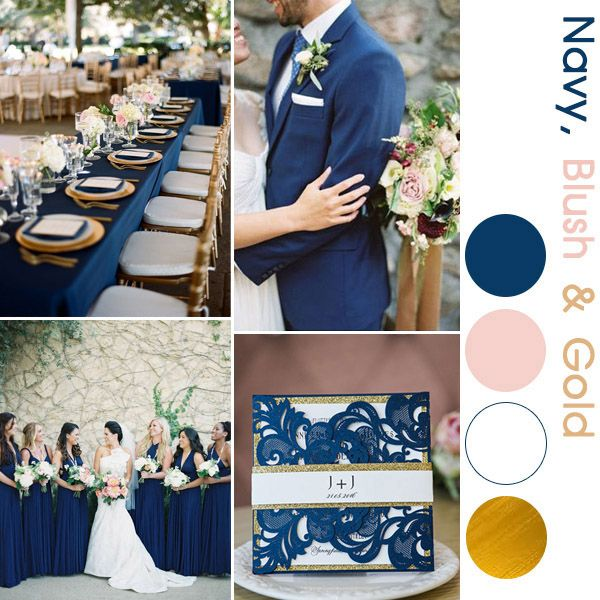 navy blue laser cut wedding invitations with glittery bottom cards and bands EWWS136 as low as $2 29