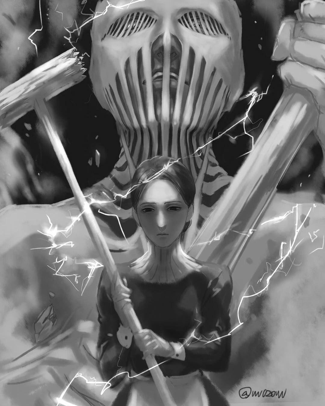 War Hammer Titan Fan Art Artist Vvv020vvv On Twitter Attack On Titan Shingeki No Kyojin Attack On Titan Animasi Manga