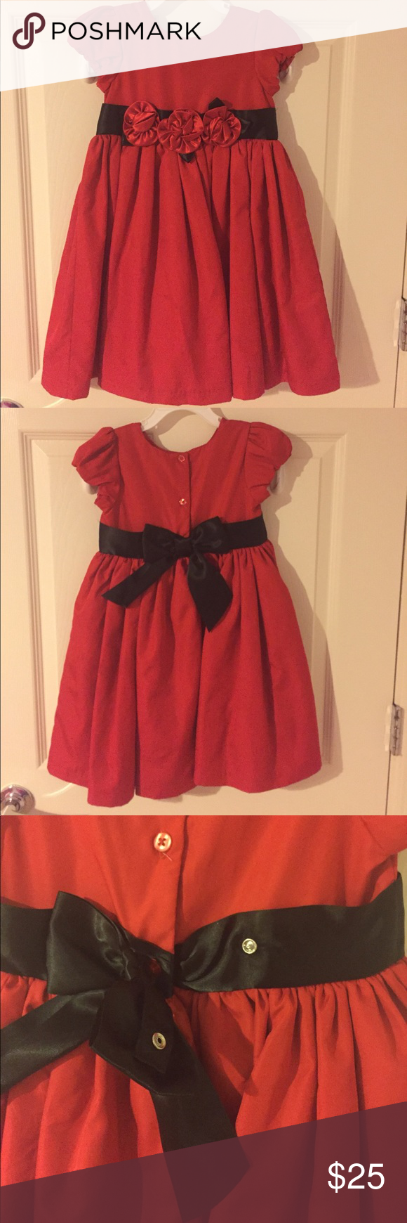 Little me girls red dress dress formal formal and conditioning