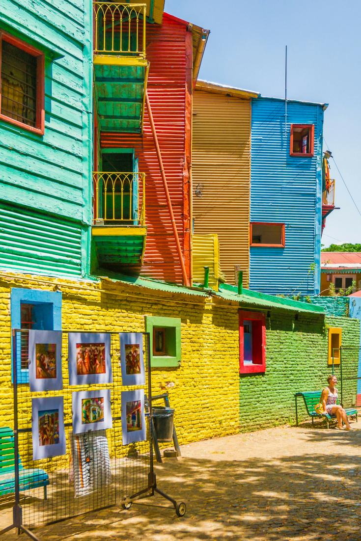 Argentinien Und Buenos Aires Sind Bunt Vor Allem Der Stadtteil La Boca Ist Ein Perfektes Fotomotiv Fur Ihren Nachsten Urla Argentinien Sudamerika Reise Reisen
