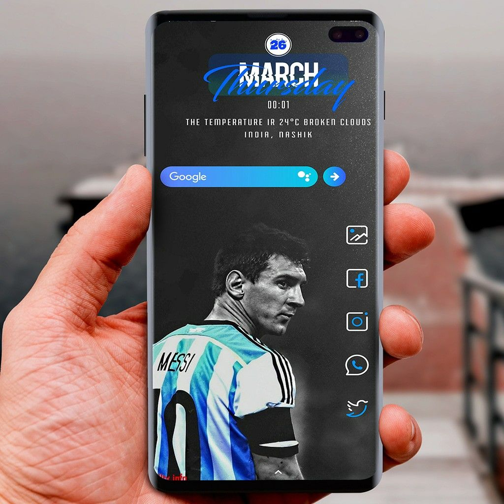 Android Homescreen Setup On Samsung S10plus Homescreen Android Theme Samsung Home screen samsung galaxy s10 plus