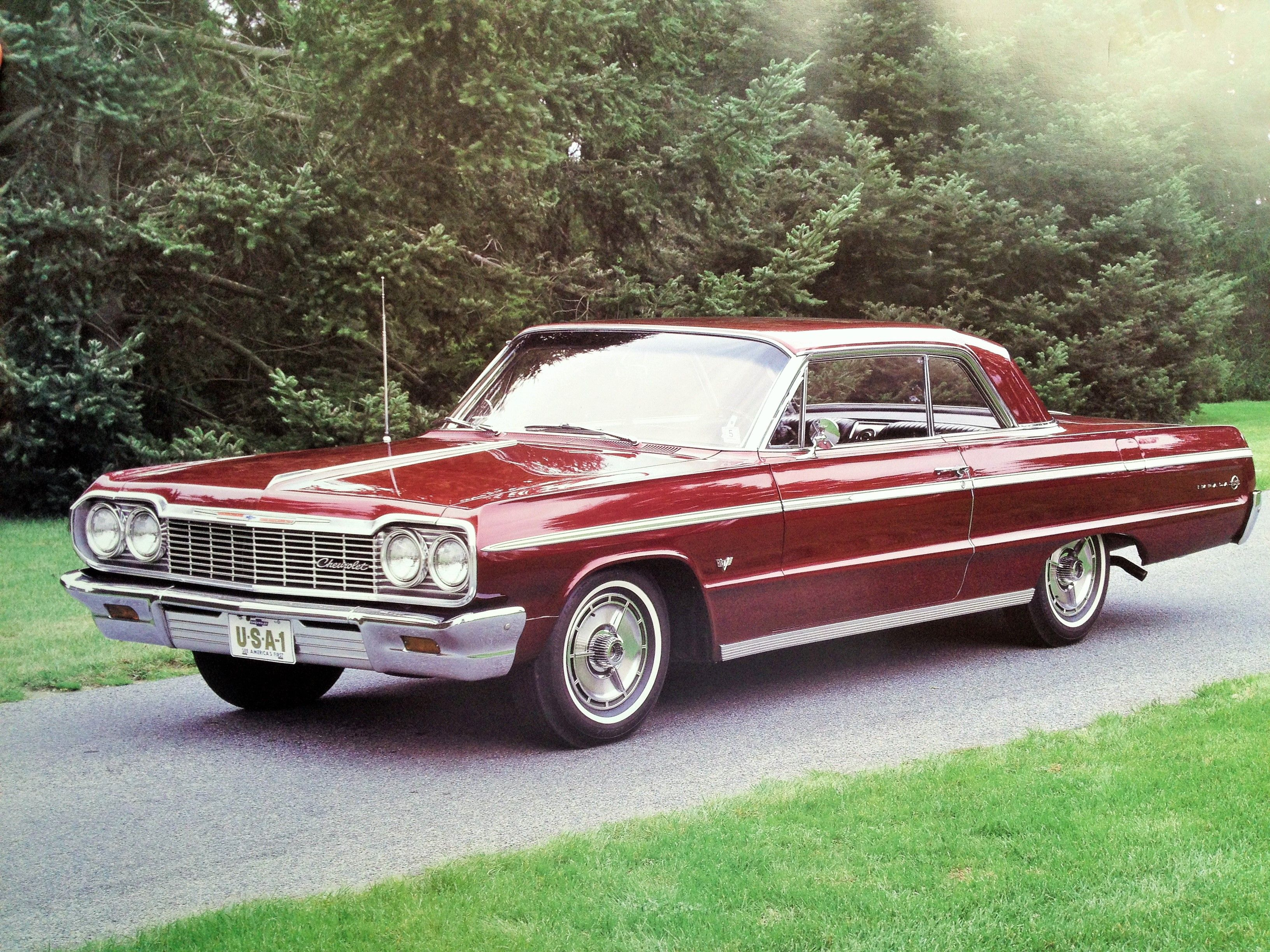 64 Chevy Impala SS Cars Pinterest