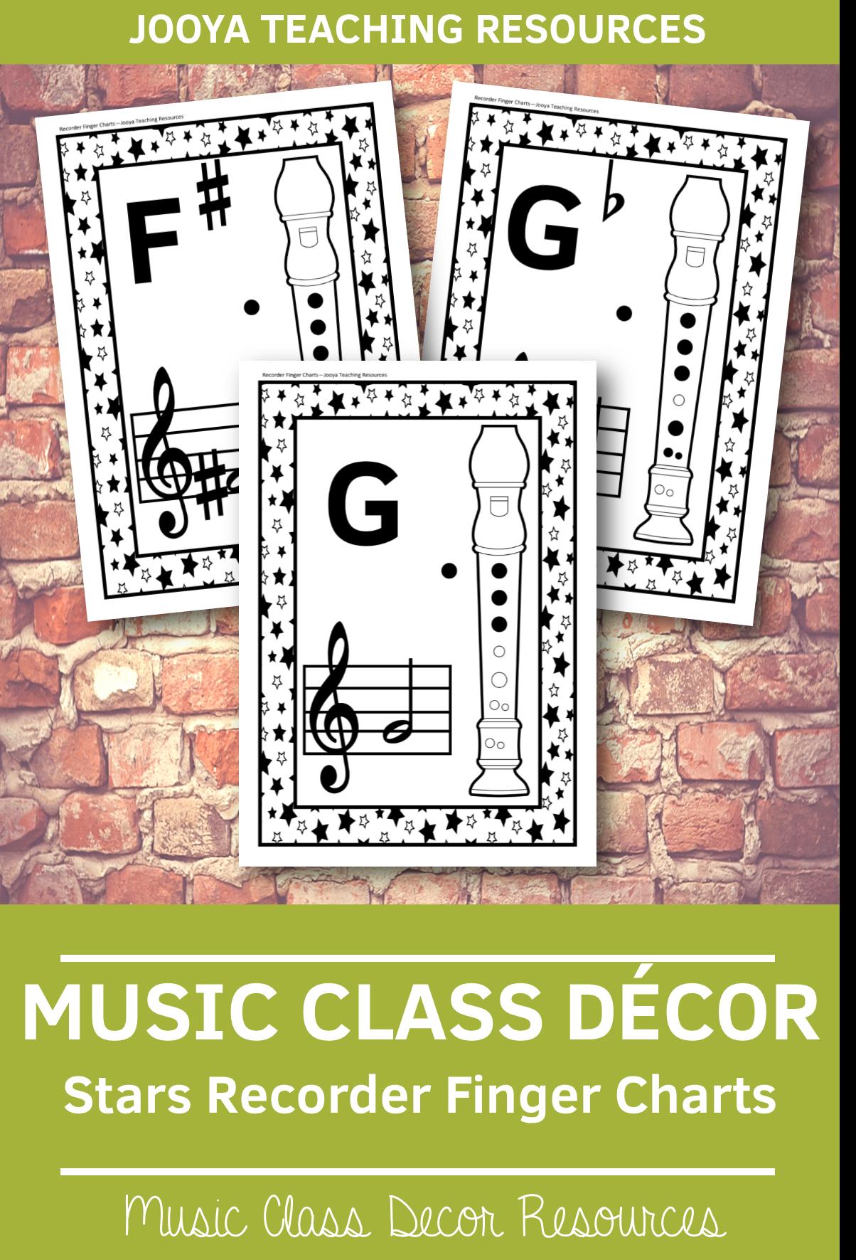 Music Class Decor