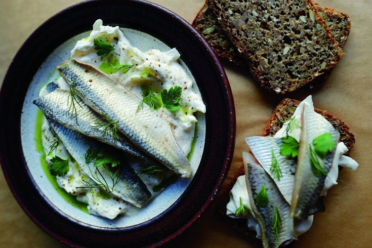Pickled Herring With Sour Cream And Onion Recipe Herring Recipes Recipes Sour Cream And Onion