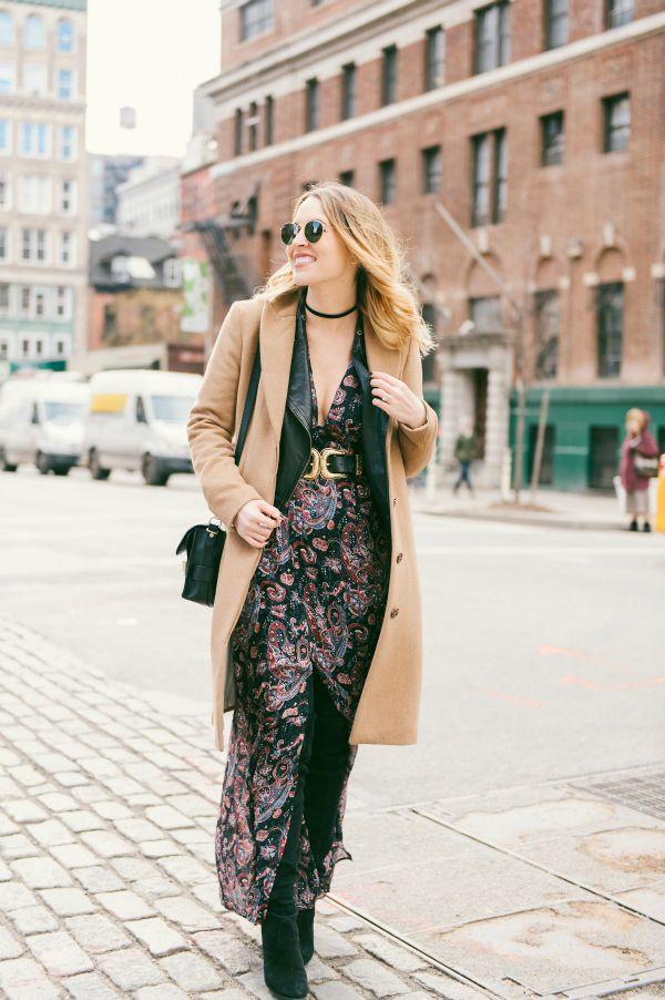 NYFW | Paisley Print Maxi Dress - Oh So GlamOh So Glam