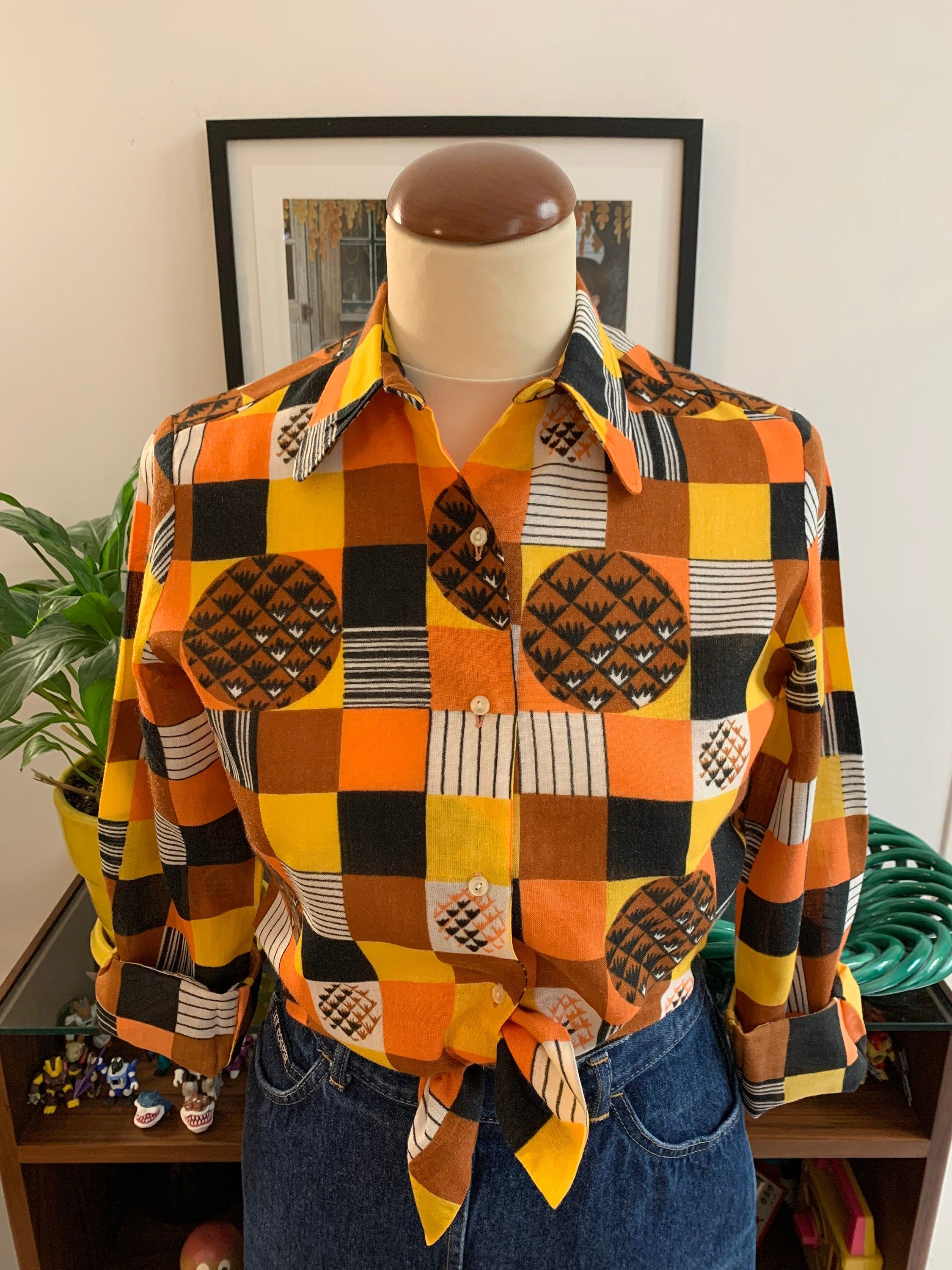Pin On Vintage Blouses Shirts And Tops