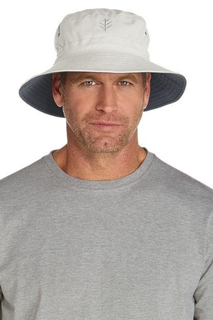 Men S Landon Reversible Bucket Hat Upf 50 Coolibar Hats For Men Sun Hats