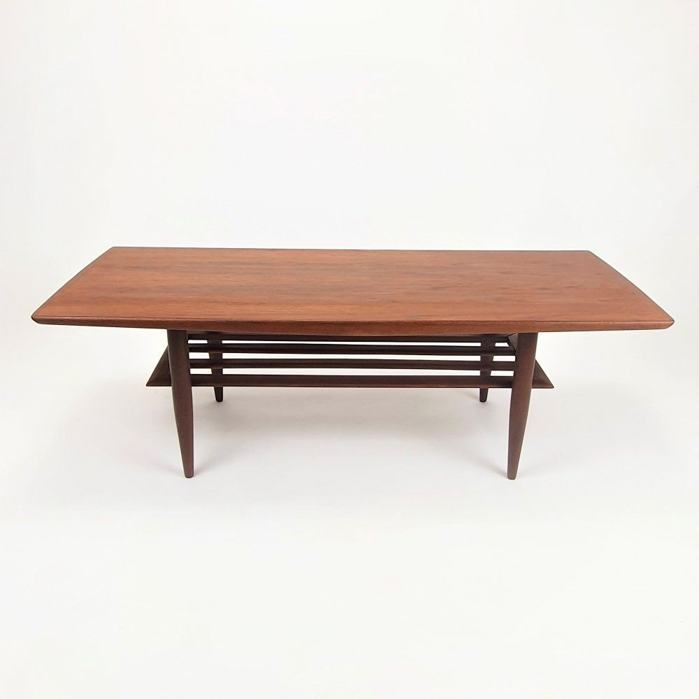 For sale: Mid Century Teak design coffee table, 1950s ...