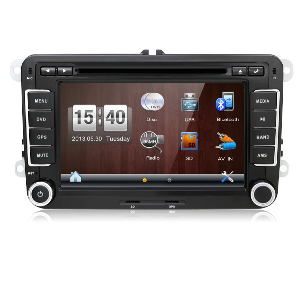 autoradio 2 din car dvd vw navigation for volkswagen golf. Black Bedroom Furniture Sets. Home Design Ideas