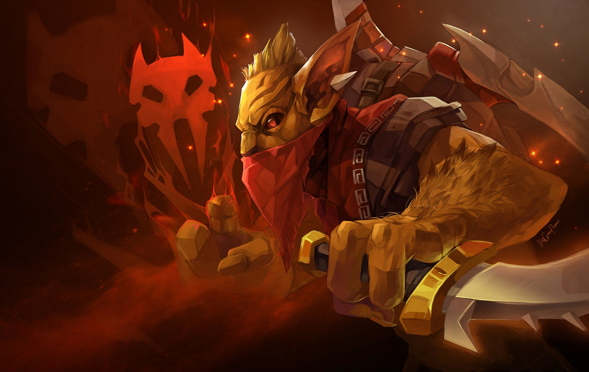 Bounty Hunter Wallpapers Dota  Hd Wallpapers